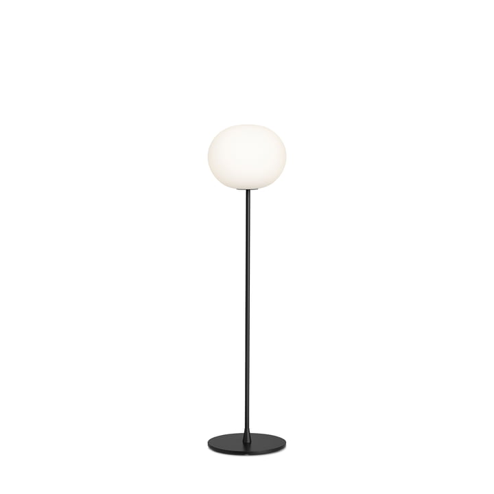 Glo Ball F 1 gulvlampe fra Flos i sort mat