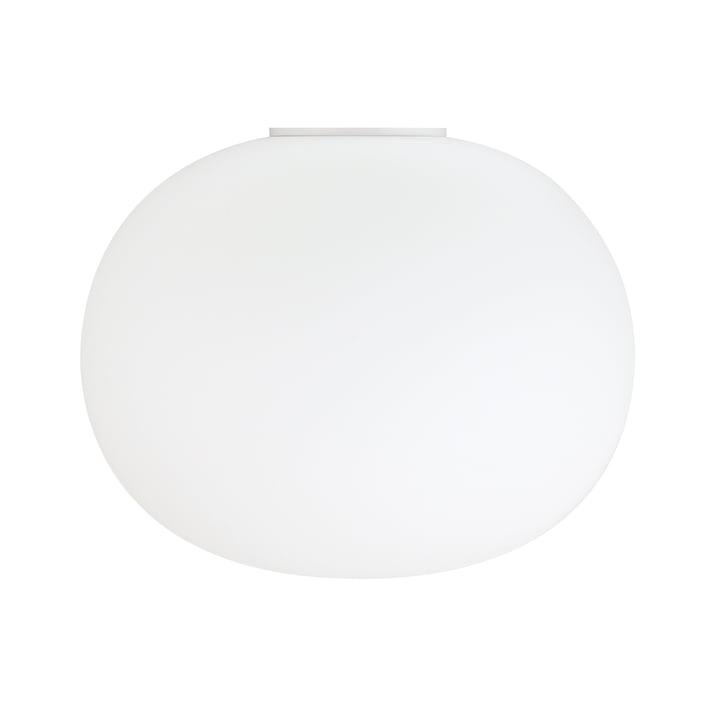 Glo-Ball væg- og loftslampe 2 fra Flos i hvid, Ø 45 cm