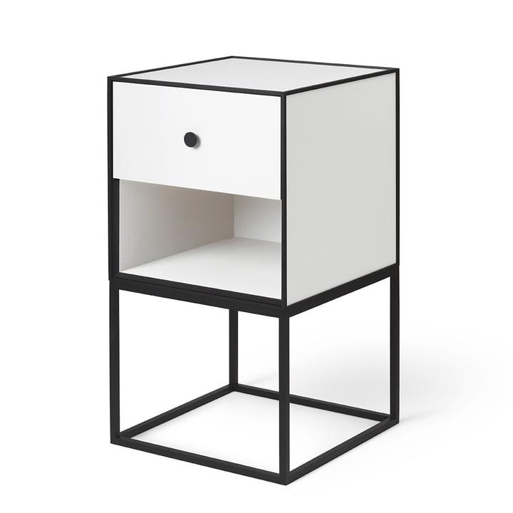 Frame Sideboard 35 (inkl. Skuffe), hvid fra by Lassen