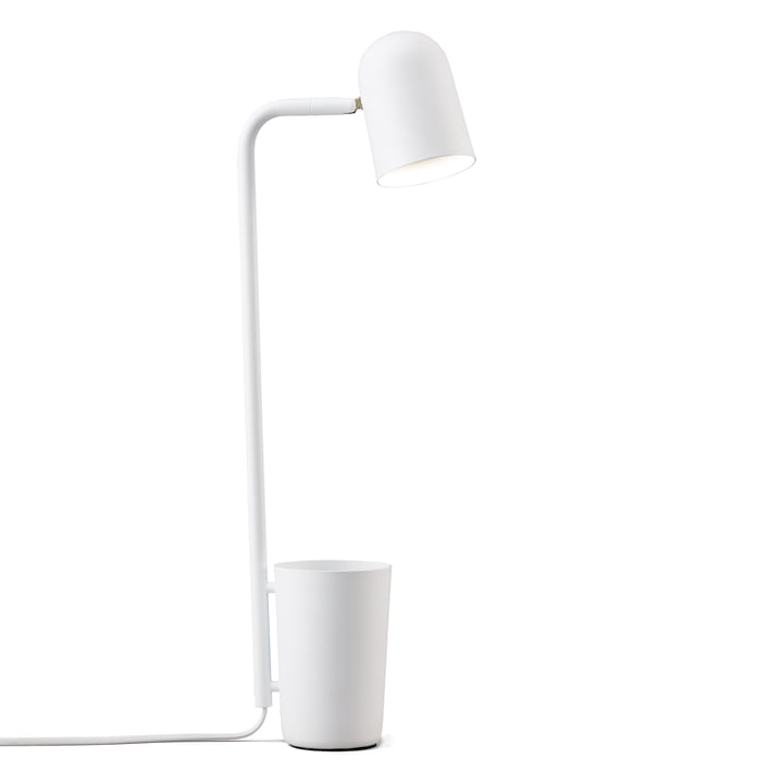 Northern Buddy bordlampe i hvid