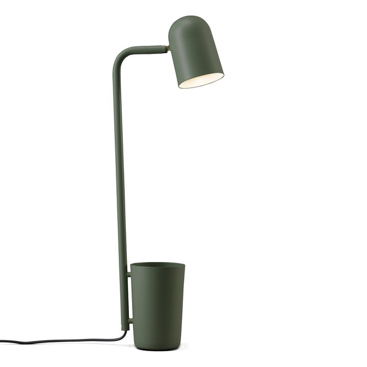 Buddy bordlampe fra Northern i mørkegrøn