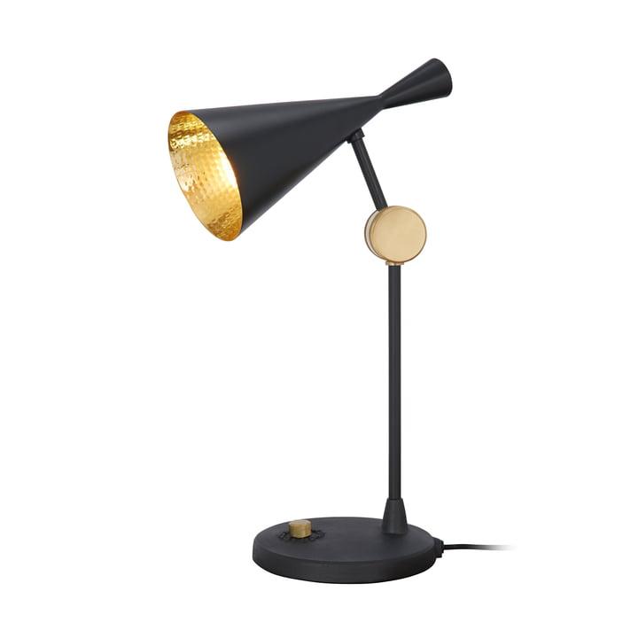 Beat bordlampe af Tom Dixon i sort