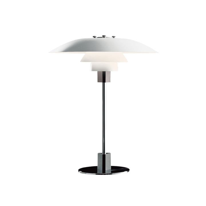 Louis Poulsen - PH 4/3 bordlampe i hvid