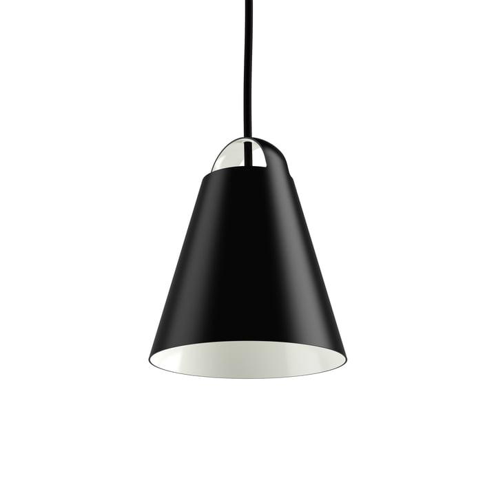 Above pendel, Ø 17,5 cm, fra Louis Poulsen i sort
