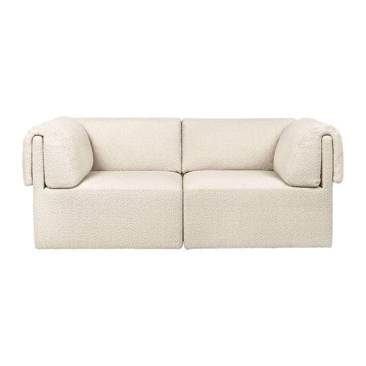 Wonder sofa, 2-pers., Karakorum, creme fra Gubi