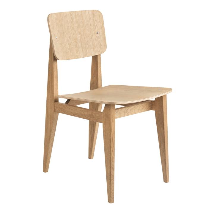 C-Chair Dining Chair Veneer, olieret eg af Gubi
