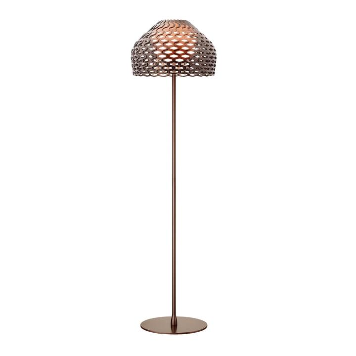Tatou gulvlampen fra Flos i okkergrå