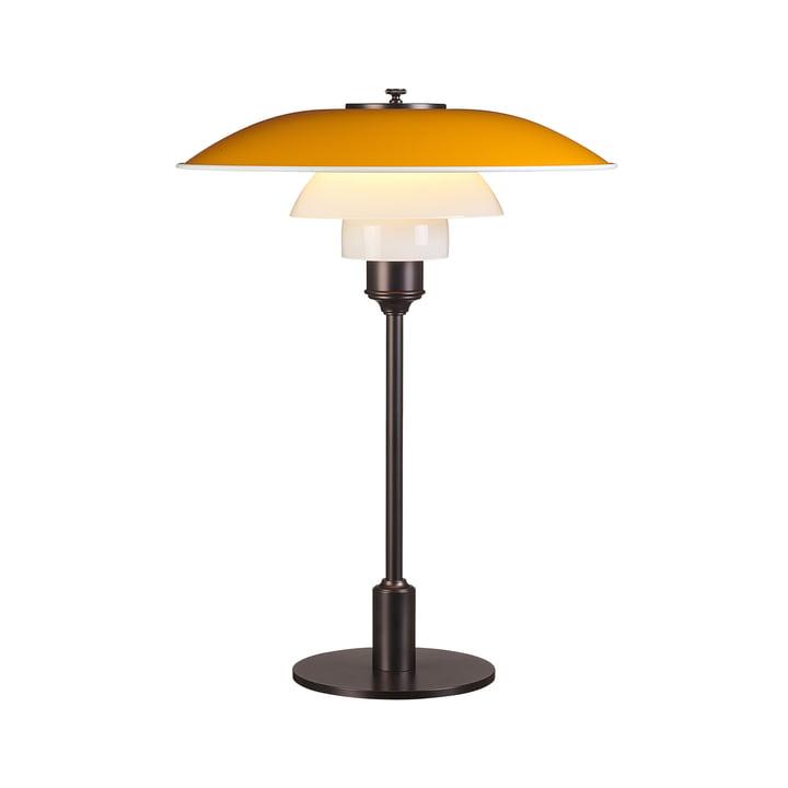 Bordlampe PH 3½-2½ af Louis Poulsen i gult
