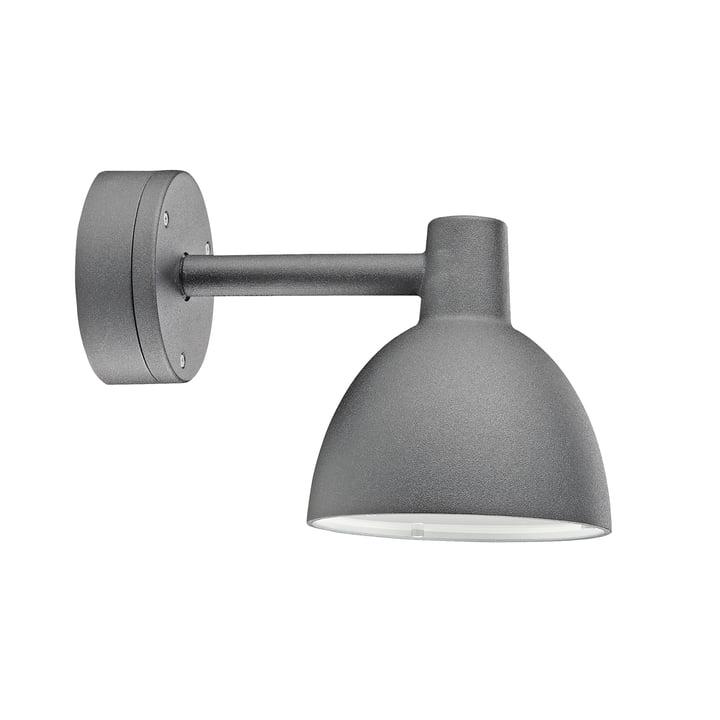 Louis Poulsen - Toldbod 155 væglampe i aluminiumsfarve