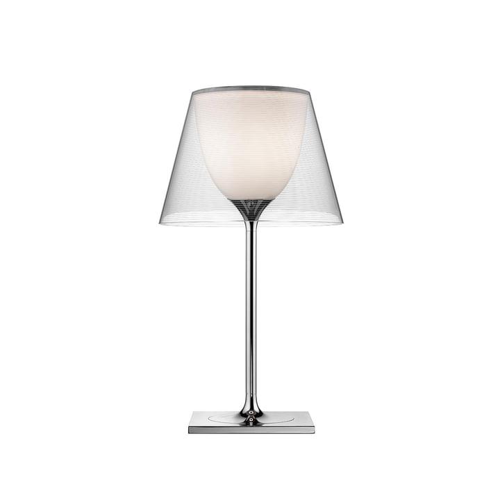K Tribe T1 bordlampe fra Flos i gennemsigtig