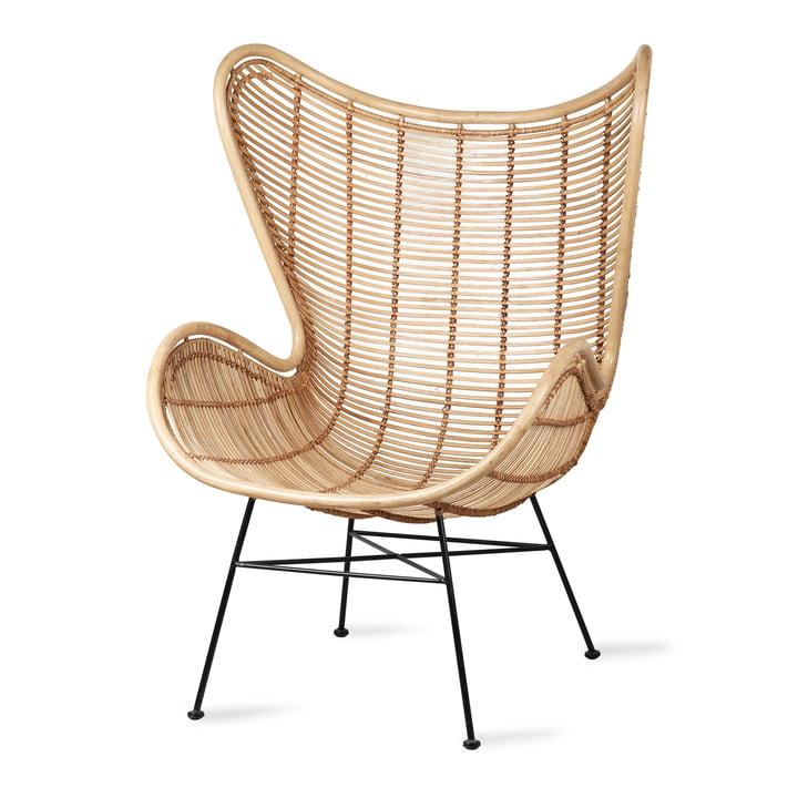 Rattan Egg Chair, naturligt ved HKliving