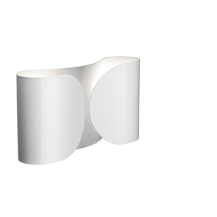 Foglio væglampe, hvid af Flos