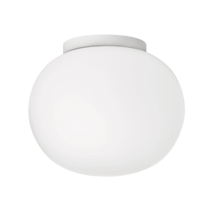 Mini Glo-Ball væg- og loftslampe Ø 11,2 cm fra Flos i hvidt