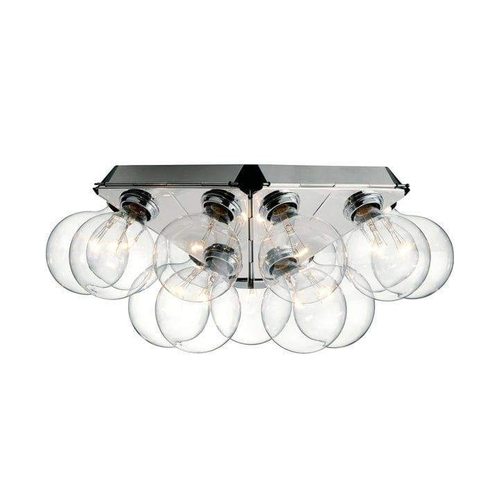 Taraxacum 88 væg- og loftslampe fra Flos i aluminium