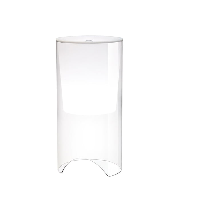 Aoy bordlampe, Ø 20 x H 60 cm, opalhvid af Flos
