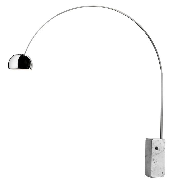 Arco standerlampen fra Flos