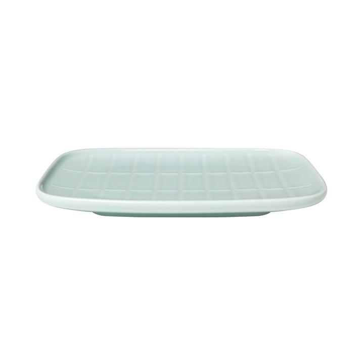 Tiiliskivi-tallerkenen fra Marimekko i mynte