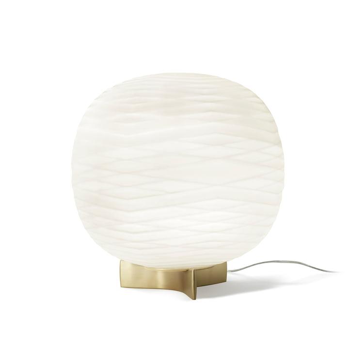 Gem bordlampe med lysdæmper fra Foscarini i hvid