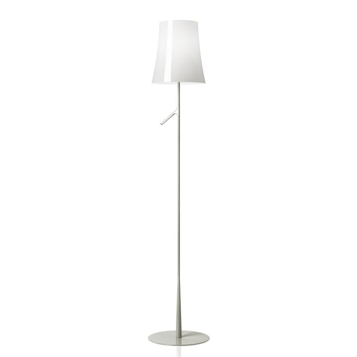 Foscarini – Birdie gulvlampe uden touch lysdæmper i hvid