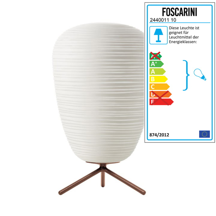 Foscarini - Rituals 1 bordlampe