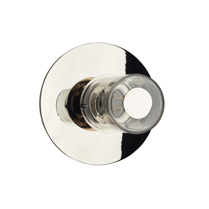 In the Sun væglampen fra DCW i sølv, Ø 190 mm