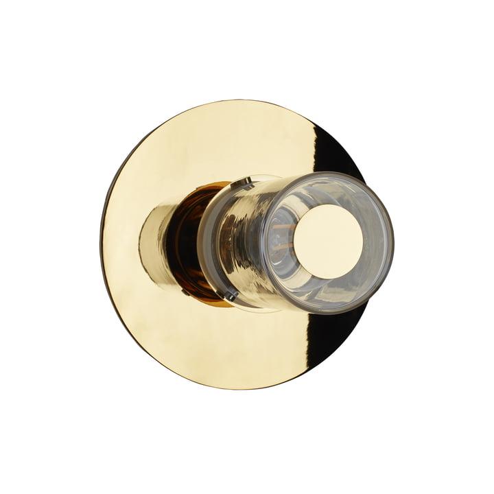 In the Sun væglampen fra DCW i guld, Ø 190 mm