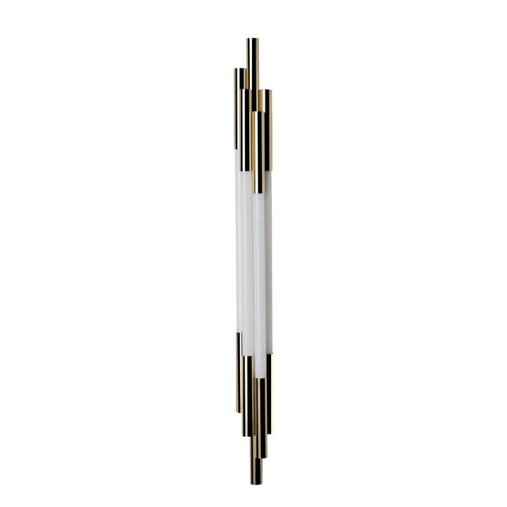 Org LED væglampe 1050 fra DCW i guld