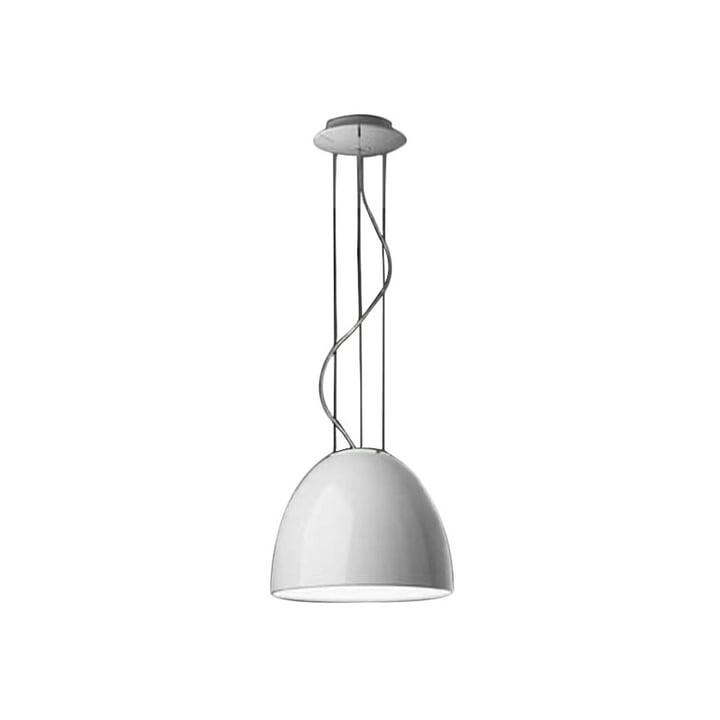 Artemide - Kun Mini Gloss pendellampe, halogenlampe, hvid