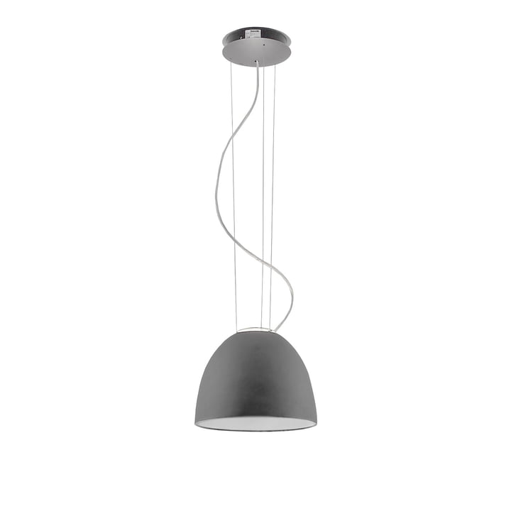 Artemide - Nur Mini pendellampe, aluminium grå