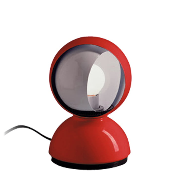 Artemide Eclisse bordlampe, rød