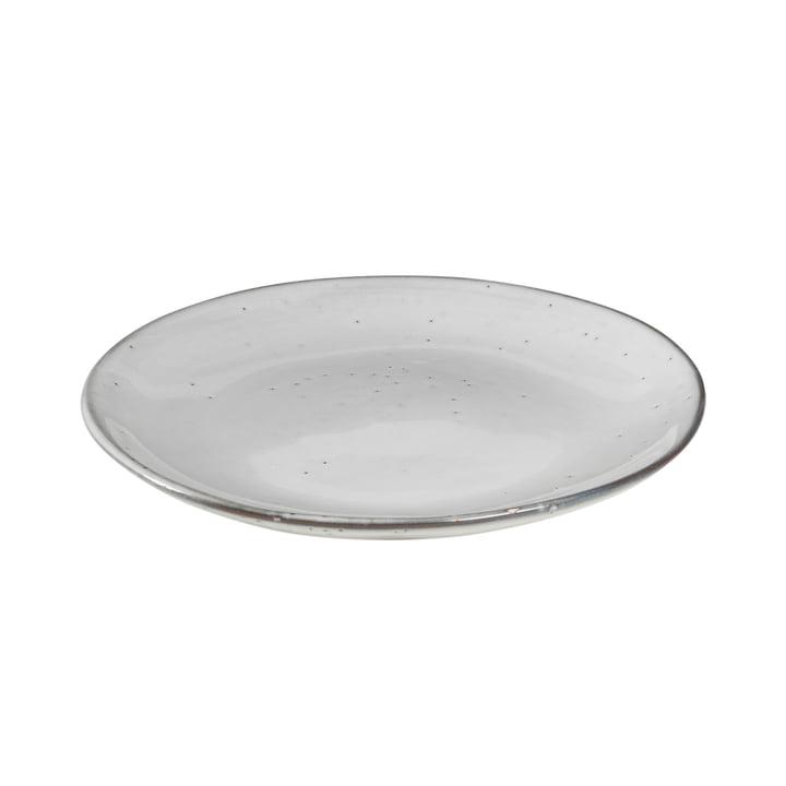 Nordic Sand dessert tallerken Ø 20 x H 2,2 cm fra Broste Copenhagen
