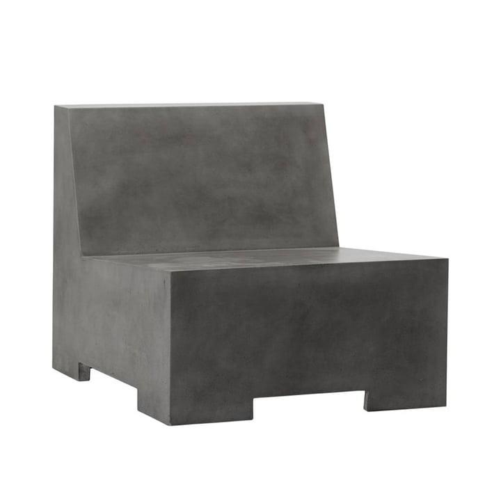 Loun lounge stol af House Doctor i grå