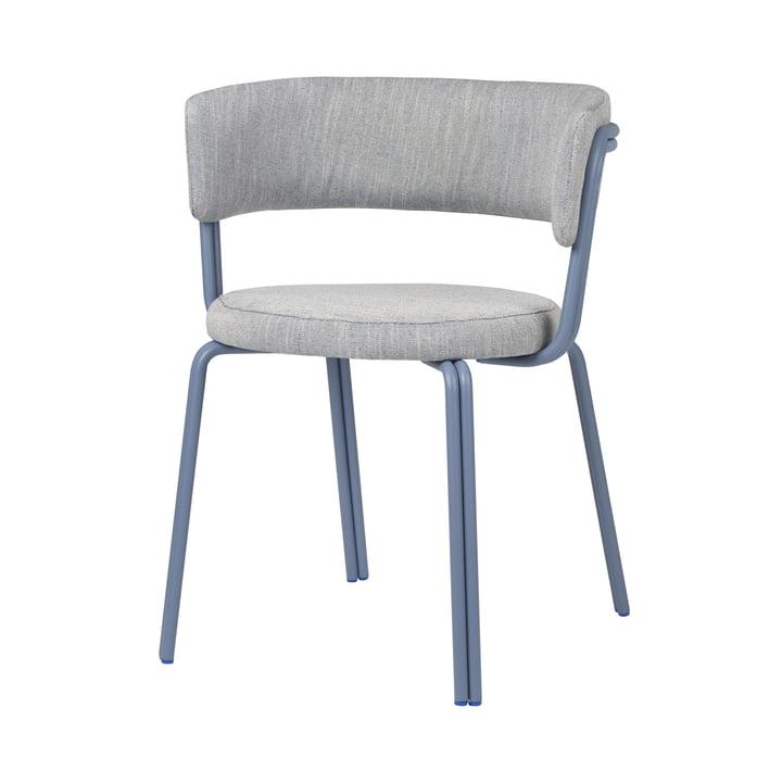 Oda lænestol fra Broste Copenhagen i blå