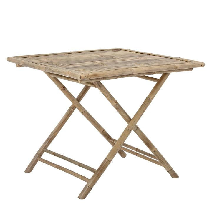 Sole spisebord 90 x 90 cm fra Bloomingville i bambus