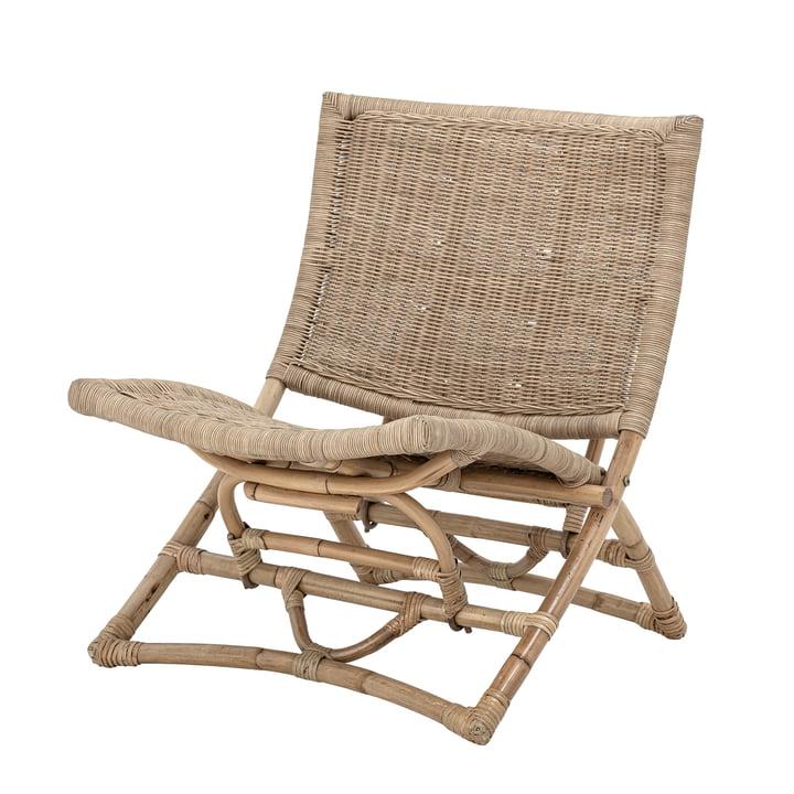 Baz Lounge Chair af Bloomingville i naturlig rotting
