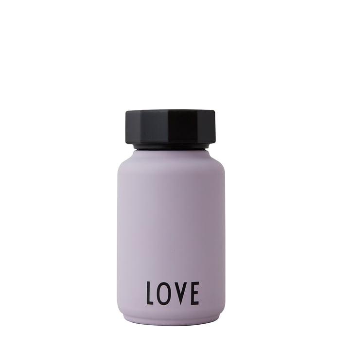 AJ Thermos Bottle Hot & Cold af Design Letters, Love / lavendel (specialudgave)