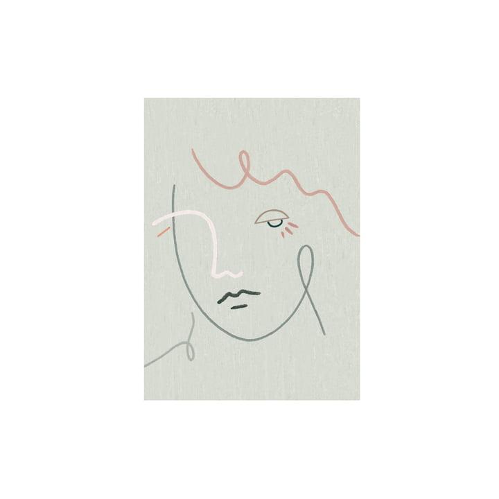 Gertrude plakaten fra Paper Collective, 30 x 40 cm