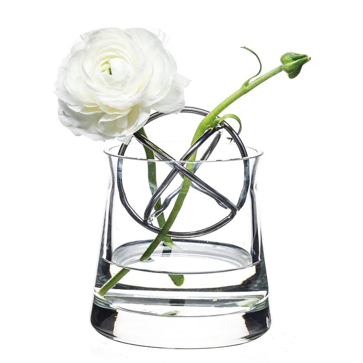 Sphere Vase Lille, rustfrit stål fra Born in Sweden