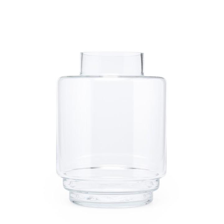 Monday vase H 23 cm, gennemsigtige fra Puik