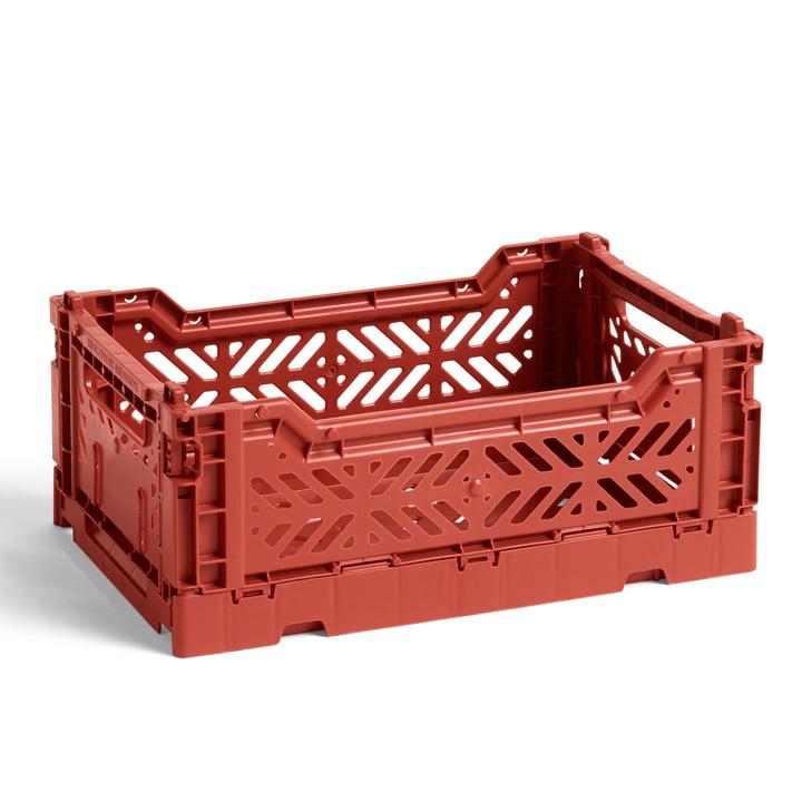 Hay - Colour Crate Basket S, 26,5 x 17 cm, terracotta