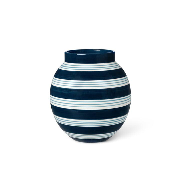 Omaggio vasen fra Kähler Design, H 20,5 cm, mørkeblå