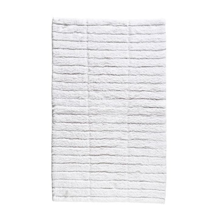 Soft Tiles badeværelsesmåtte fra Zone Denmark, 50 x 80 cm, hvid