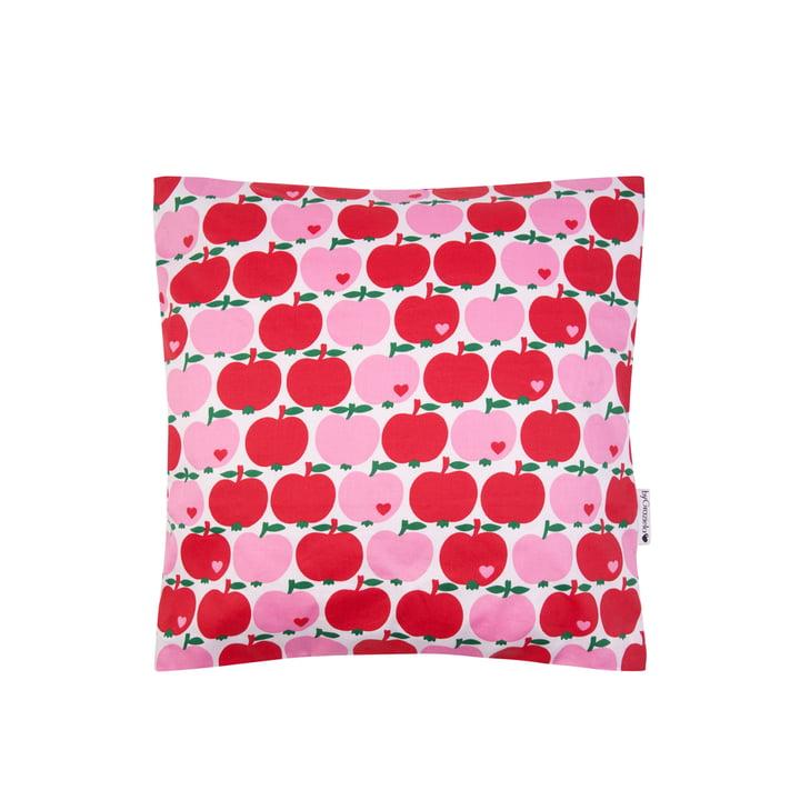 Puden byGraziela æble af byGraziela, 40 x 40 cm, rød