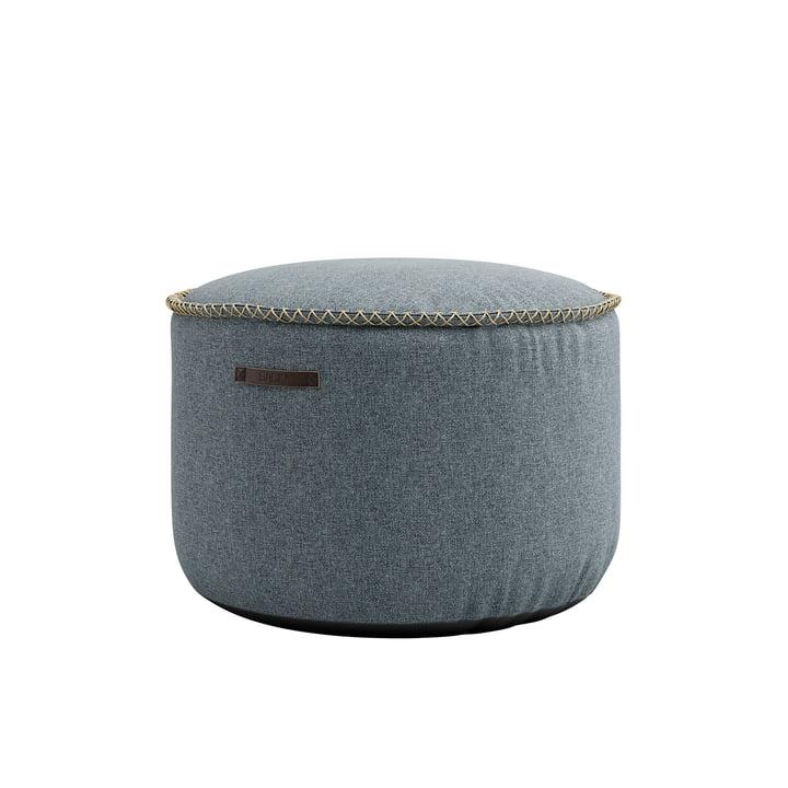 RETRO it Medley Drum Pouf af SACK it, dusty blue