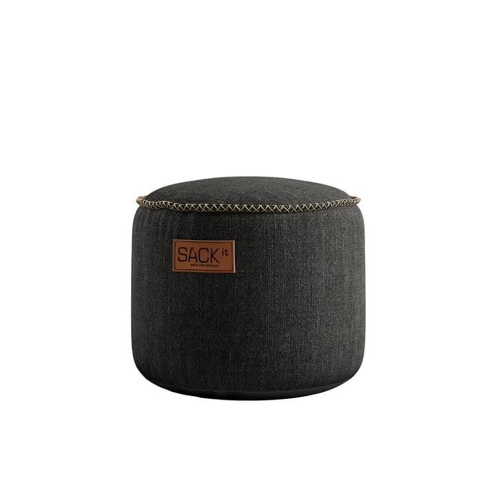 RETRO it Cobana Junior Drum Outdoor Pouf af SACK it, grå