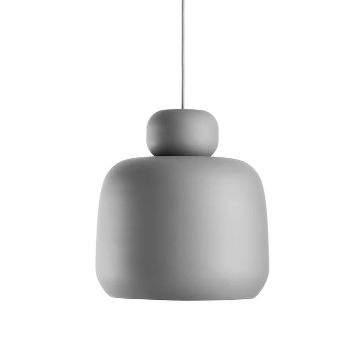 Woud - Stone pendel, lille, grå