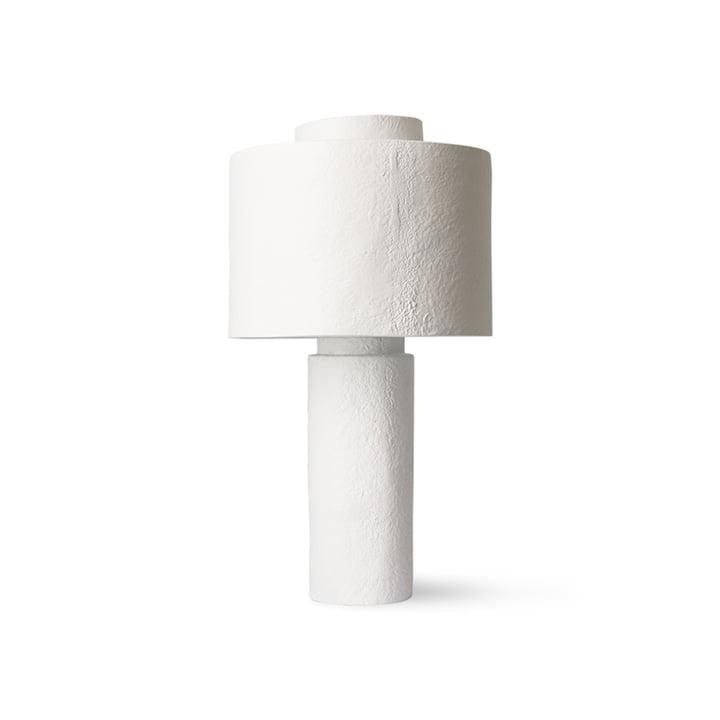 Gesso bordlampe fra HKliving, mat hvid