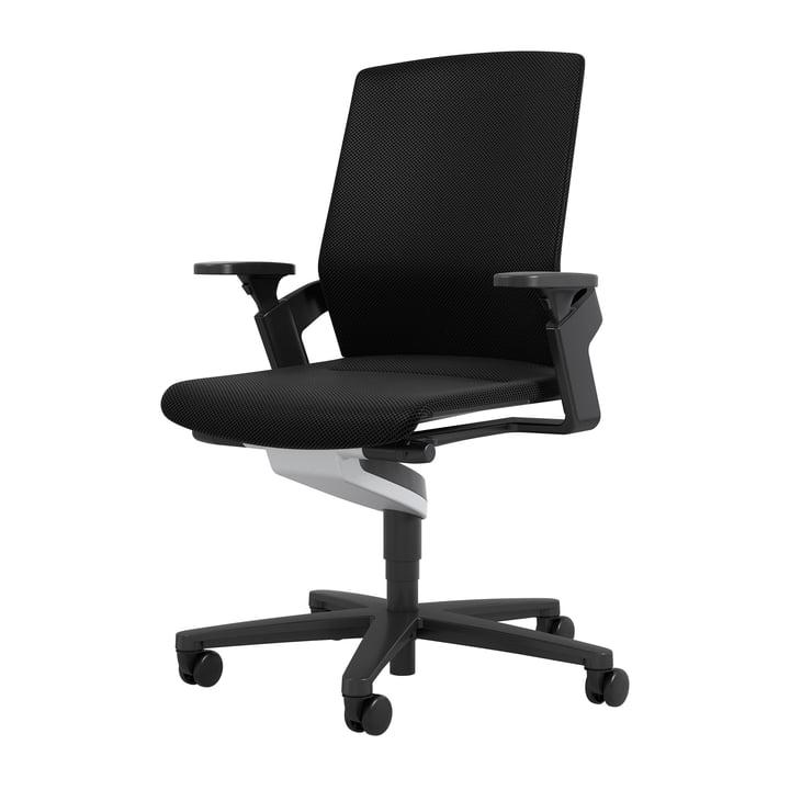 174/7 ON kontor drejestol af Wilkhahn, sort