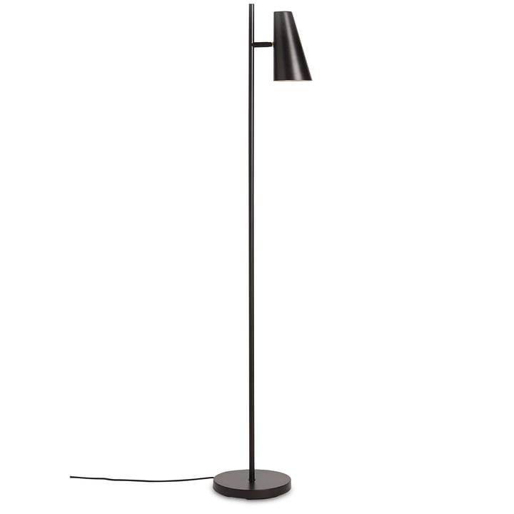 Cono gulvlampe H 140 cm fra Woud i sort