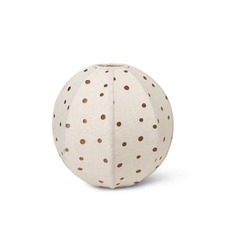 Dots tekstil lampeskærm Ø 35 cm fra ferm Bor i sukker tang